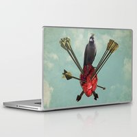 arrows Laptop & iPad Skins featuring Arrows by Seamless