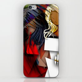 Cubist BFF's iPhone Skin