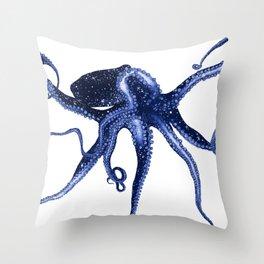 Cosmic Octopus II Throw Pillow