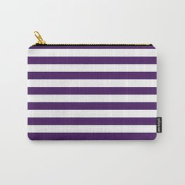 Purple Thin Stripes | Digital Design | Pattern Carry-All Pouch