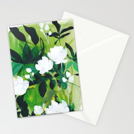 Jungle Abstract Stationery Cards