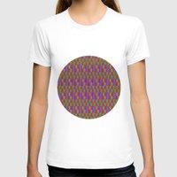 quilt T-shirts featuring Caterpillar Quilt by Peter Gross