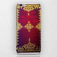 tool iPhone & iPod Skins featuring Tool Me by Jrr Bookworks