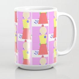 Sasha Velour Geometric Coffee Mug