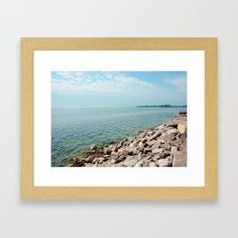 AFE Kew-Balmy Beach 7 Framed Art Print