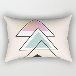 Minimalist Triangle Series 012 Rectangular Pillow