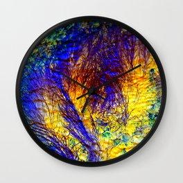 abstract kk Wall Clock