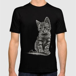 Kitty - PENCIL DRAWING T-shirt