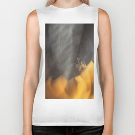 Flames in the Dark (abstract) Biker Tank