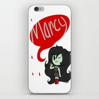 marceline iPhone & iPod Skins featuring Marceline by dartty
