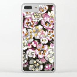 Folhado - Azorean flora Clear iPhone Case