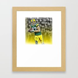 Jordy Nelson Catch Framed Art Print