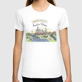 We Belong in Austin T-shirt