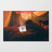 blankets Canvas Prints featuring Blankets by Angelo Ries