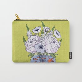 Goldfish Flowers Carry-All Pouch