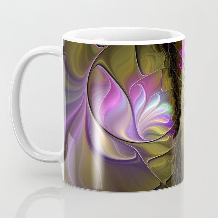 Come Together, Abstract Fractal Art Coffee Mug