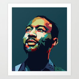 John Legend - Mad4U Art Print
