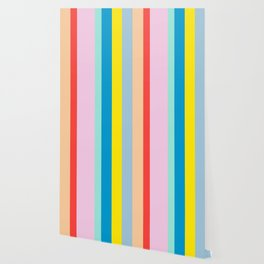 the color of summer stripes Wallpaper