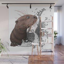 Cujo giant river otter Wall Mural