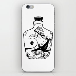 Whale and the sun iPhone Skin