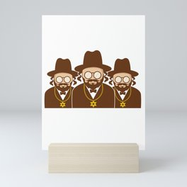 This Is How We Jew It Gangster And Jew Gift Mini Art Print