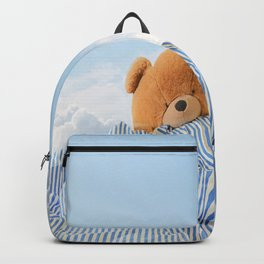 Sweet Dreams - Teddy Bear's Nap #decor #society6 #buyart Backpack