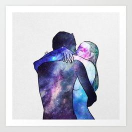 Just you gave me that feeling. Art Print