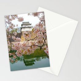 Tokyo Imperial Palace + Cherry Blossoms Stationery Cards