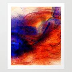 Mouvance Art Print