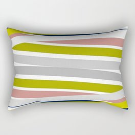 Colorful Strips Rectangular Pillow