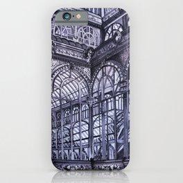 Cool grey - Crystal Palace, Park Retiro, Madrid iPhone Case