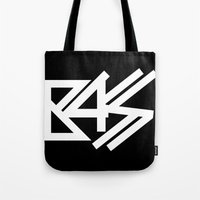 bass Tote Bags featuring BASS by DropBass