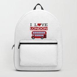 I Love London Backpack
