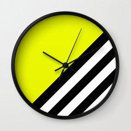 Sunshine Zebra Wall Clock