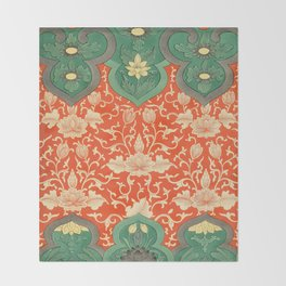 Examples of Chinese Ornament XCIV Throw Blanket