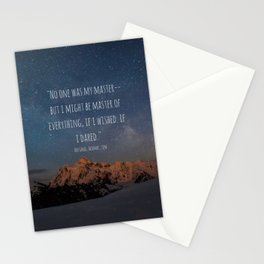 A Court Of Mist And Fury Quote, Velaris Stationery Cards