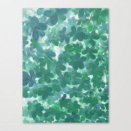 Clover I Canvas Print