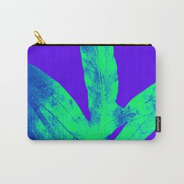 Blue Ultraviolet Green Earth Day Fern Carry-All Pouch