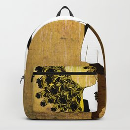 flight feathers Backpack