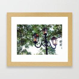 Post Lights of Paris Framed Art Print