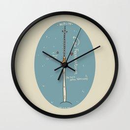 Der Fernsehturm Wall Clock