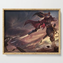 High Noon Yasuo League of Legends Serving Tray