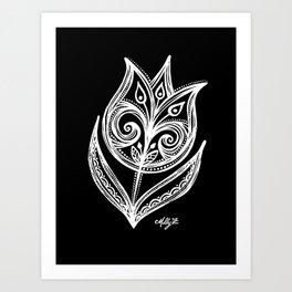 White Flower 89 Art Print
