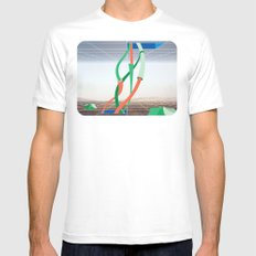 Holodeck MEDIUM Mens Fitted Tee White