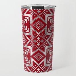 Pattern in Grandma Style #29 Travel Mug