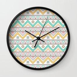 Batik Style 4 Wall Clock