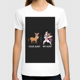 Your Aunt My Aunt Funny Cute dabbing T-shirt
