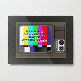 Videodrome Metal Print