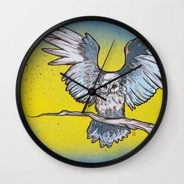 Stirgi the Owl Wall Clock