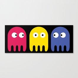 Pacman Enemy Canvas Print